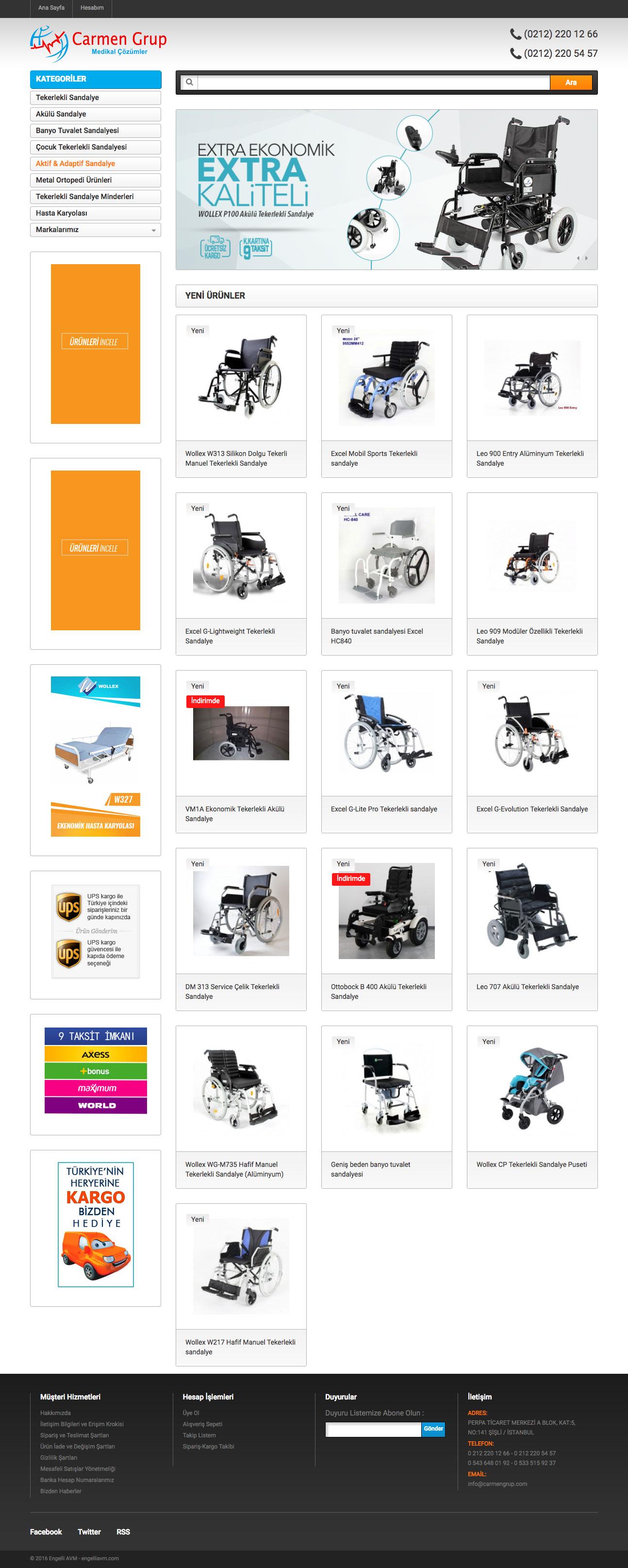 Akülü Sandalye Web Sitesi