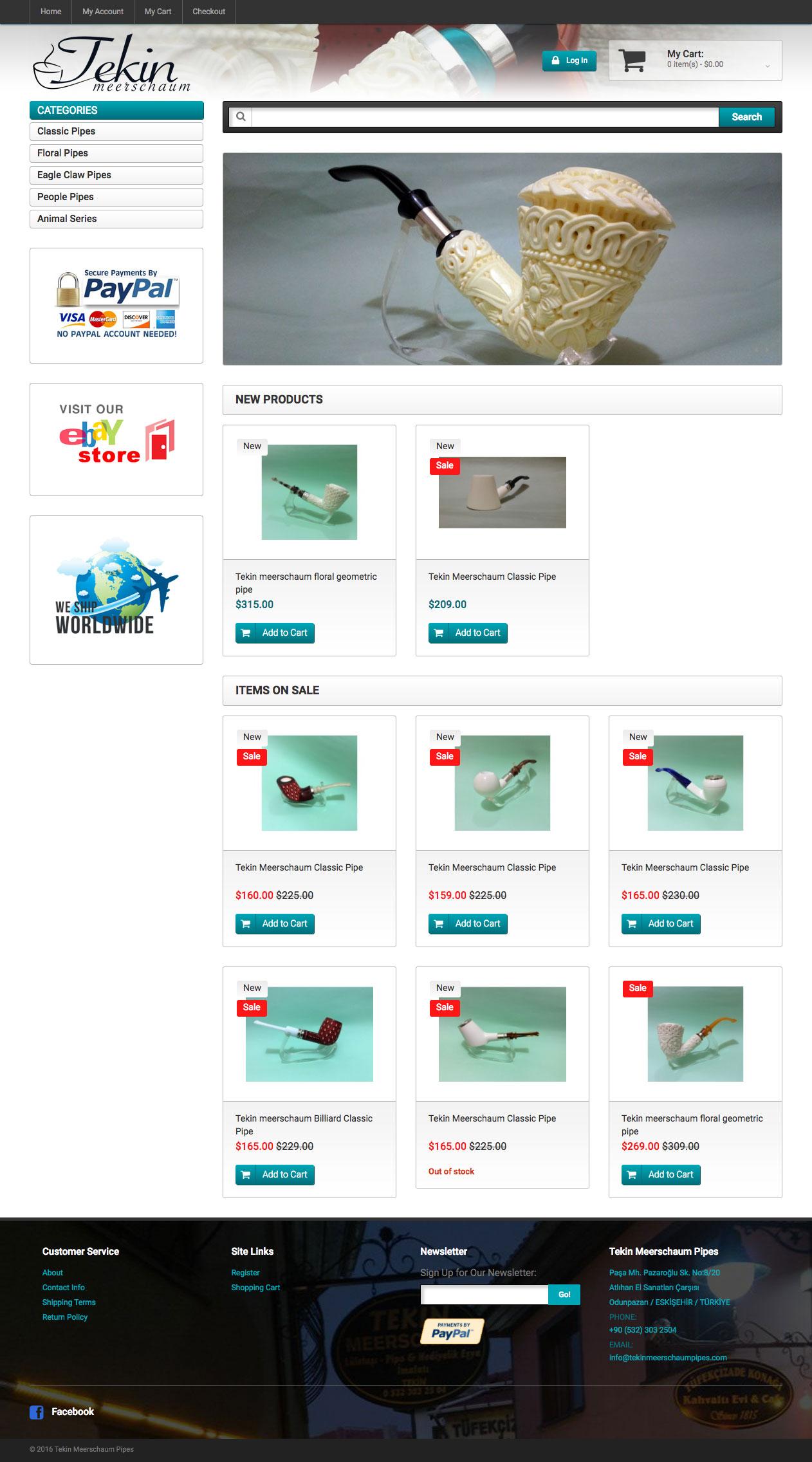 Tekin Meerschaum Web Sitesi