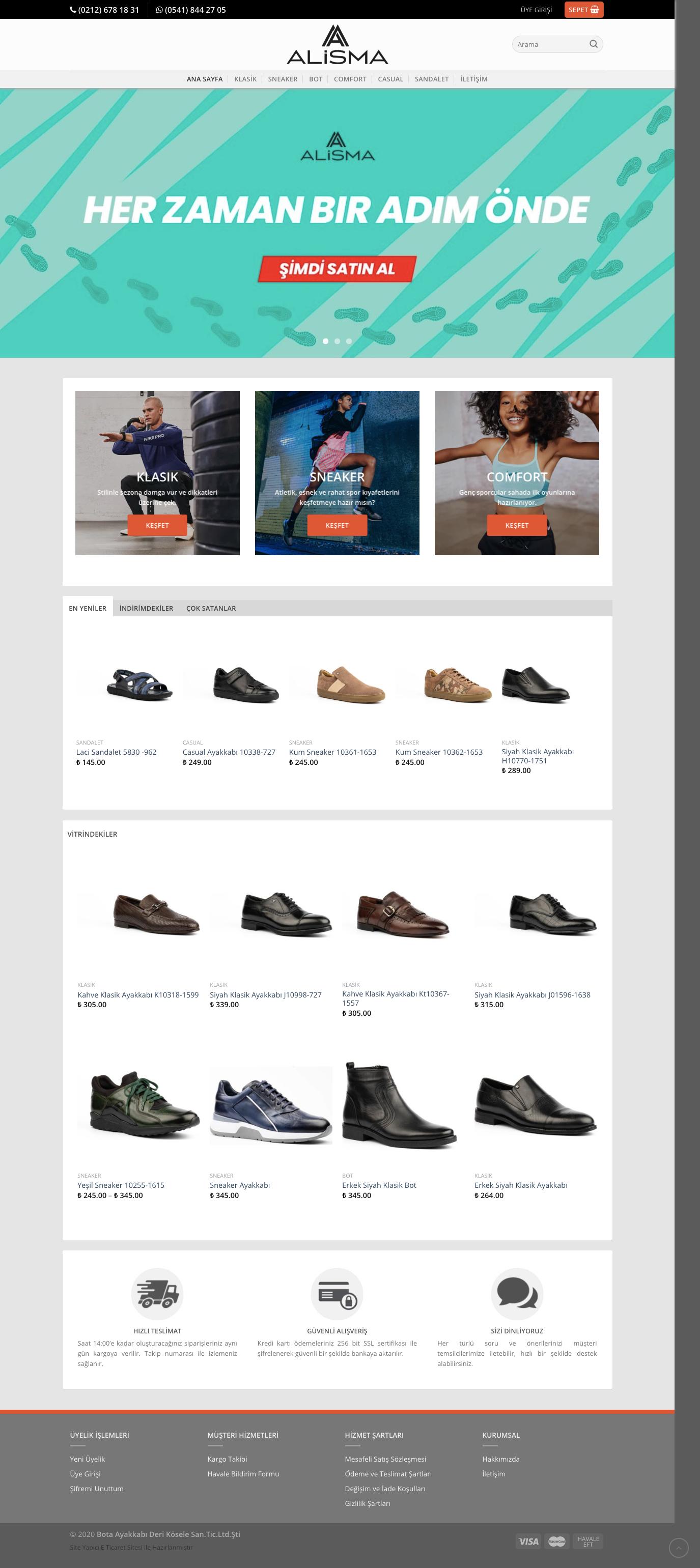 Alisma Web Sitesi